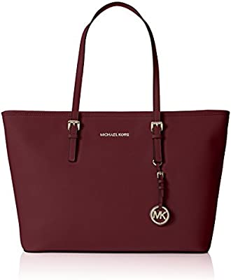 Michael Kors Jet Set Travel Medium Top Zip Multifunction Tote, Bolso Totes para Mujer, 30x15x39 cm (W x H x L)