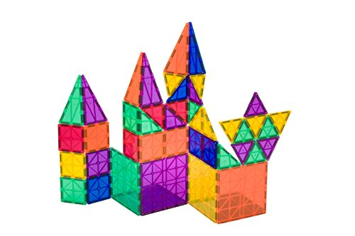 Playmags-50-6-Piece-Set-Now-with-Stronger-Magnets-Sturdy-Super-Durable-with-Vivid-Clear-Color-Tiles-6-piece-Clickins-Accessories-to-Enhance-your-Creativity