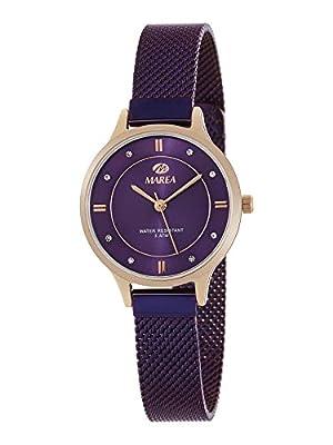 Reloj Marea Analógico Mujer B54138/7 Armis Acero Morado y Caja Rosegold