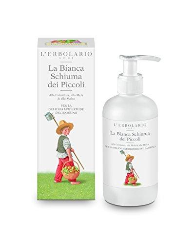 L'Erbolario Baby- und Kinderpflege Schaumbad für Körper und Haare, 1er Pack (1 x 250 ml) -