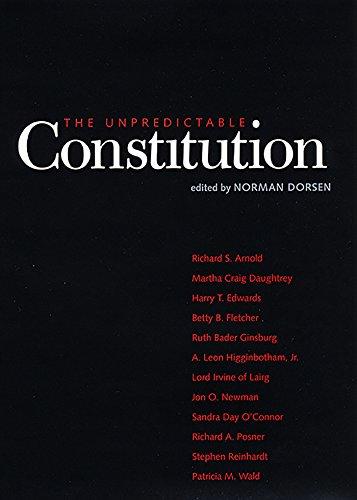 The Unpredictable Constitution (English Edition)