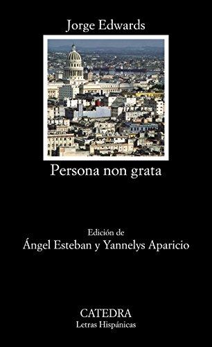 Descargar Libro Libro Persona non grata (Letras Hispánicas) de Jorge Edwards