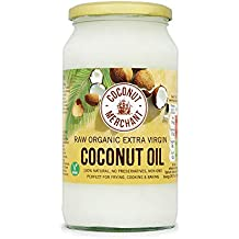Coconut Merchant Organic Raw Extra Virgin Coconut Oil 1 Litre