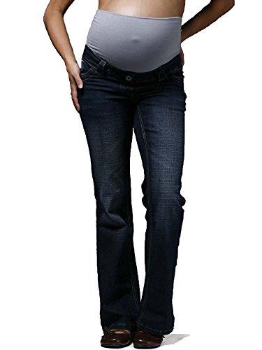 Indigo - Pantalones vaqueros de maternidad...