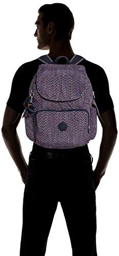 Kipling - CITY PACK L - Grand sac à dos - Dazz Tobacco C - (Marron) Multicolore - Mini Geo