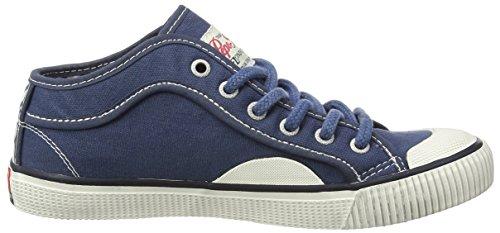 Pepe Jeans Industry Basic, Baskets Basses Garçon Bleu (548 Blueprint)