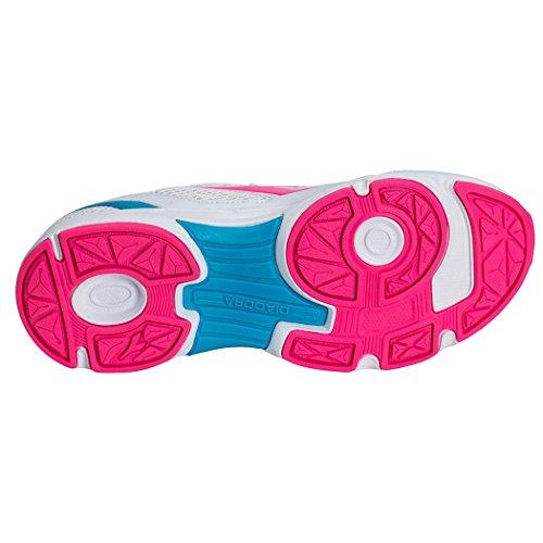 Diadora Unisex-Erwachsene Shape 7 Laufschuhe SILVER DD/BRIGHT ROSE