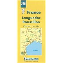 Carte routière : Languedoc - Roussillon, N° 240
