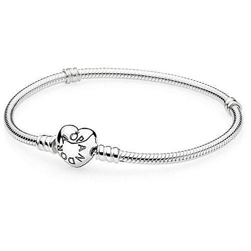 Pandora fashionnecklacebraceletanklet - gioiello da polso, argento, 18 centimeters null null null null