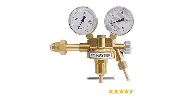 0-52m³//h # Ein 0-10 bar Durchfluss Druckminderer Sauerstoff 200 bar Aus