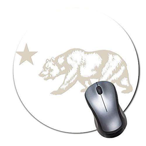 i-Mauspad in Premium-Qualit?t Rundes Mauspad mit weichem Tragekomfort Gaming-Mauspad von ROOMBA-Niedliche Halloween Hexe und Katze Kunst ()