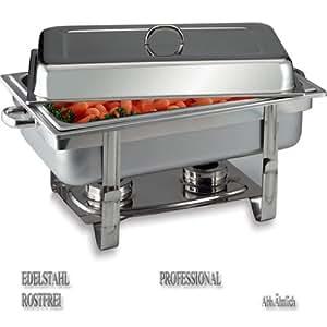 "APS Chafing Dish ""Chef"", 61 x 31cm, Edelstahl"