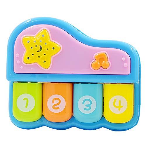 Weofferwhatyouwant pianoforte giocattolo musicale tastiera doremifa ninna nanna per neonati, bambini 1 anno, 2 anni fino a 4 anni