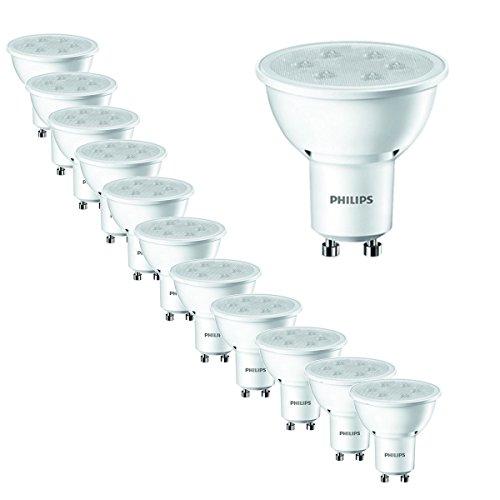 12er Pack Philips LED Lampe ersetzt 35W, EEK A+, GU10, weiß (3000 Kelvin), 250 Lumen, 8718696483763 [Energieklasse A+]