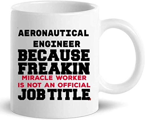 Not Applicable Taza de café de Taza de Ingeniero aeronáutico - Regalo de Oficina de colega de ingeniería para Hombres y Mujeres