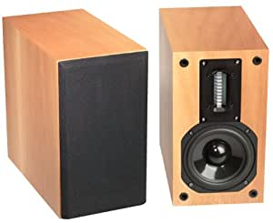 Red Rose Music Spirit Studio Monitors, LS-1 FS (French Sycamore, Pair) (Discontinued by Manufacturer)