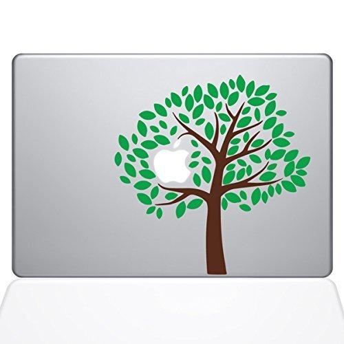 Die Aufkleber Guru 2093-mac-13a-NA einfach Baum Aufkleber Vinyl Aufkleber, 33cm MacBook Air, - Mac Decal Baum