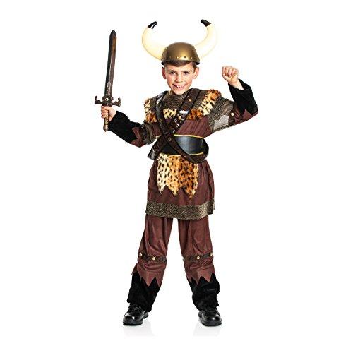 Kostüm Wikinger Junge - Kostümplanet® Wikinger-Kostüm Kinder Junge Kinderkostüm Größe 128