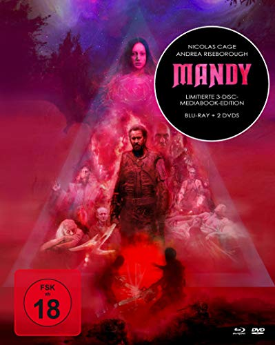 Mandy - Mediabook (+ 2 DVDs) [Blu-ray]