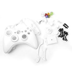 Metall Schutzhuelle Komplette Gehaeuse SET Fuer Xbox 360 Wireless Controller