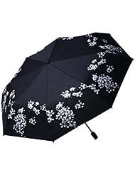 Fille / Femmes Outdoor Sun Protection Accessoire Durable Vinyl Umbrella