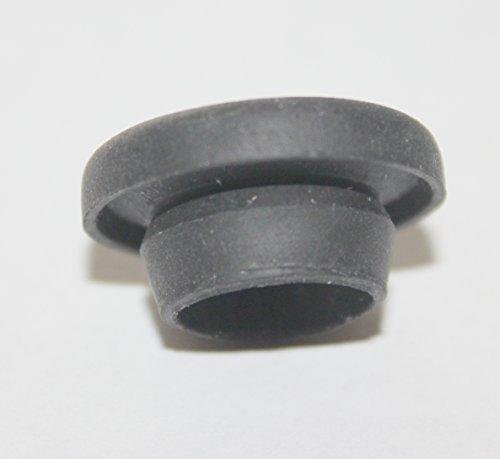(0,50EUR/Stueck) 10 x Karosseriestopfen, Gummi, schwarz für Bohrloch D=10mm
