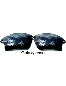 Galaxy lentes de repuesto para Oakley Fast Jacket XL Negro Color Polarizados