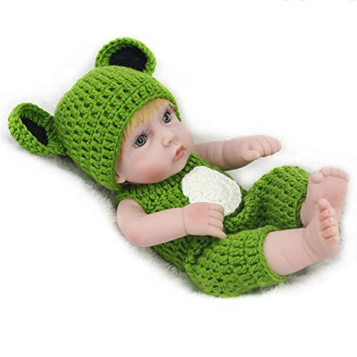 PINGJIA 11 Zoll Lebensechte Wiedergeborene Babypuppen Realistische Handgemachte Babys Für Kinderspielzeug