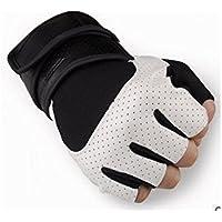 GYPO Barbecue Handschuh Sport Fitness Atmungsaktive Handschuhe Half Finger Reithandschuhe Armschienen Radfahren Rutschfeste Tragbare Handschuhe für Männer Grillen Handschuhe