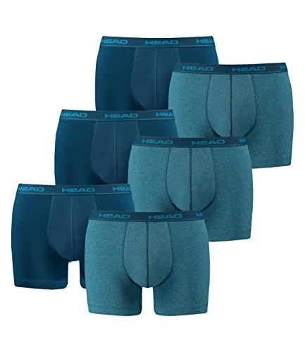 6er Pack HEAD Herren Boxershorts Blue Heaven