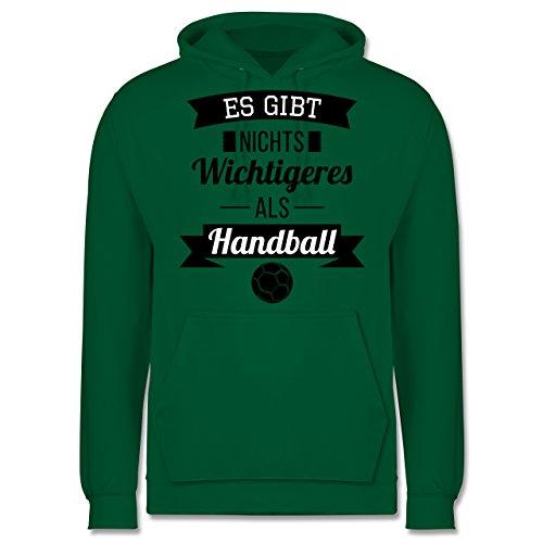 Handball - Es gibt nichts Wichtigeres als Handball - Männer Premium Kapuzenpullover / Hoodie Grün