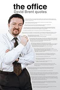 The Office UK (David Brent Quotes) TV Maxi Poster Print - 61x91 cm