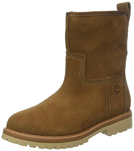 Timberland Damen Chamonix Valley Kurzschaft Stiefel, Braun (Dark Rubber Suede D25), 39 EU (Winter Frauen Timberland Boots)