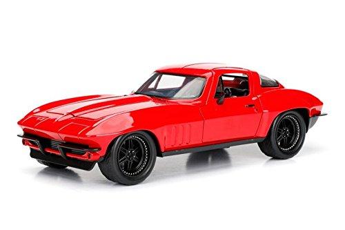 Jada Toys–98298r–Chevrolet Corvette–Fast and Furious 8–Maßstab 1/24