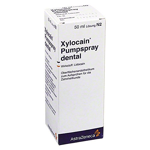 XYLOCAIN PUMPSPRAY DENTAL 50 ml Spray