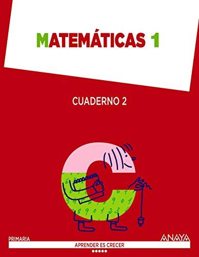 Matemáticas 1. Cuaderno 2. (Aprender es crecer) - 9788467870770