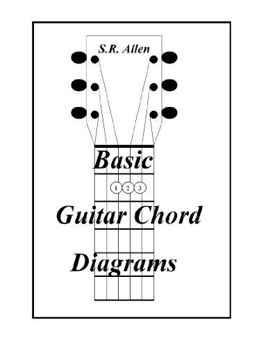 Basic Guitar Chord Diagrams (English Edition) (Basic Guitar Chord Chart)