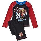 Avengers Boys Long Sleeve Pyjamas - Black