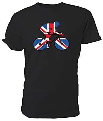 Best Of British Sport Union Jack Cycling T Shirt 3 4yrs