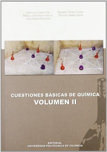 Cuestiones básicas de química II (Académica) por Sagrario Torres Cartas