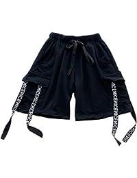 6ff92efd14a67 Gtagain Danza Niño Disfraces Camisetas Conjuntos - Adulto Pantalones Cortos Trajes  Jazz Hip Hop Moderno Freestyle
