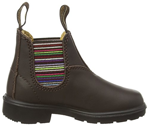 Blundstone Classic Unisex-Kinder Chelsea Boots Braun (Brown/Stripped)