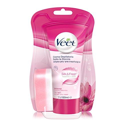 Veet - Creme Dépilatoire Silk Et Fresh 150 ML,