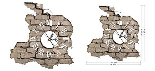 lifeup- orologio da parete moderni design silenzio numeri romani ... - Camera Da Letto In Regalo
