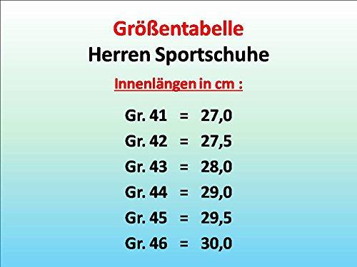 gibra, Scarpe indoor multisport uomo Schwarz/Weiß