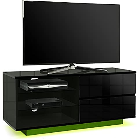 Centurion Supports Gallus Premium, colore nero con 2 cassetti & Shelf 66,04 cm-3-(26 139,70 cm (55