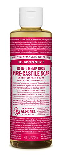 Dr. Bronner'S Dr. Bronners - Magic Pure-Castile Soap Organic Rose...
