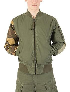 G-Star Hombre Rackam SPM Bomber Jacket, Verde