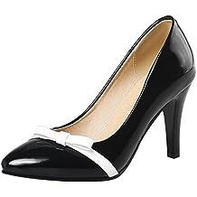 Suchergebnis auf für: schwarze pumps mit schleife