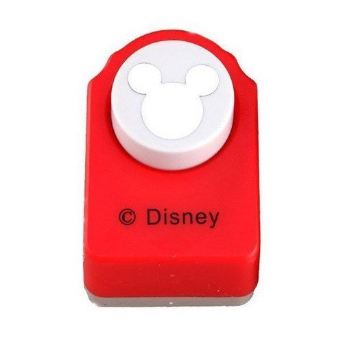 Image of Red Paper Punch of Mickey Mouse Logo
